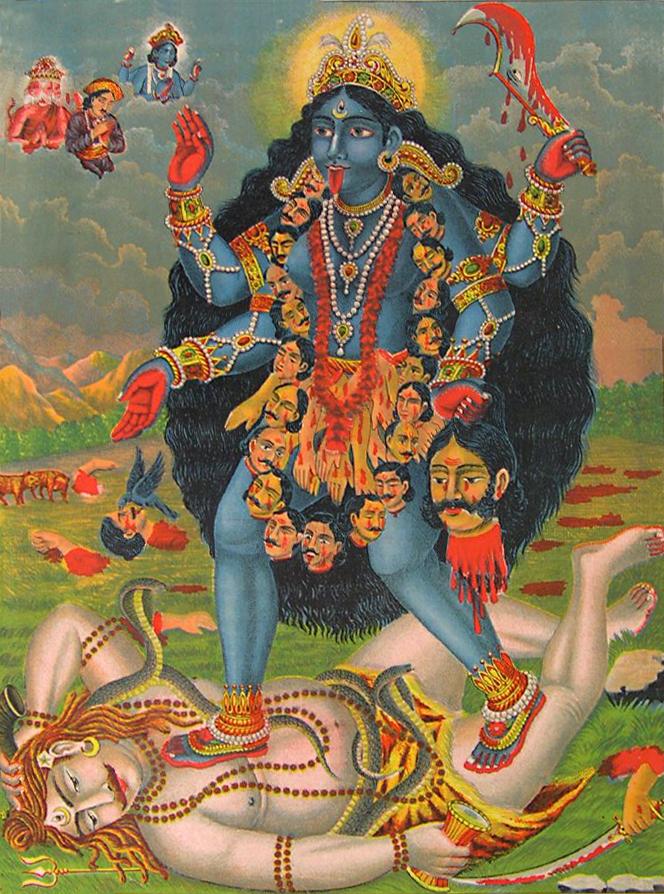 Kali_lithograph